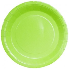 Petites Assiettes en Carton Vert