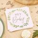 Serviettes en Papier Hey Baby - Thème Champêtre Baby Shower Eucalyptus