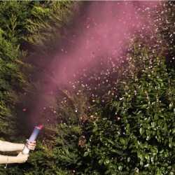 Canon à Confettis Roses et Fumigènes Annonce du Sexe de Bébé : Boy or Girl ?