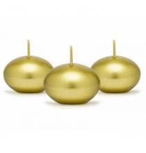 50 bougies flottantes dorées