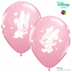 Ballons latex Minnie Mouse Anniversaire Disney Premium