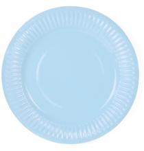 Petites Assiettes Bleu Clair Pastel