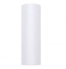 Chemin de table en tulle blanc premium -15cm