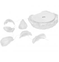 10m de guirlande à plumes blanches - Décoration Cygne et Ange