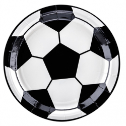 Assiettes Ballon de Foot - Anniversaire Football Sport
