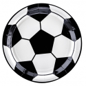 Kit Décoration pour Gâteau Anniversaire Football Joyeux Anniversaire