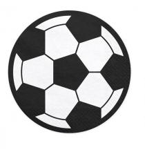 Kit Premium Décoration pour Gâteau Anniversaire Football Equipe Bleu