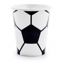 Gobelets en Papier - Ballon de Foot - Anniversaire Football Sport