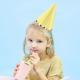 Chapeaux de fête Pastel et Dorés - Assortiment pastel jeux