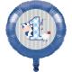8 Ballons Latex Assortis Mon Premier Anniversaire Bébé Garçon
