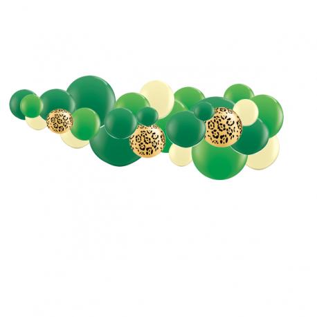 Kit Guirlande de Ballons Organiques - Modèle Jungle Party