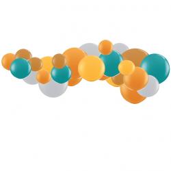 Kit Arche de Ballons Organiques - Modèle Animaux de la forêt