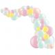 Kit Arche de Ballons Organiques - Modèle Pastel