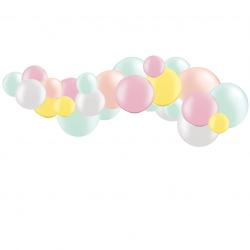 Kit Guirlande de Ballons Organiques - Modèle Pastel