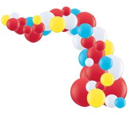 Kit Arche de Ballons Organiques - Modèle Cirque