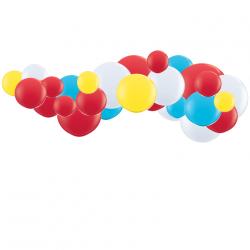 Kit Guirlande de Ballons Organiques - Modèle Cirque