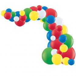 Kit Arche de Ballons Organiques - Modèle Lego