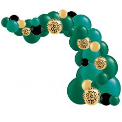 Kit Arche de Ballons Organiques - Modèle Jungle Fever