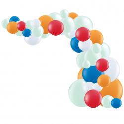 Kit Arche de Ballons Organiques - Modèle Chien