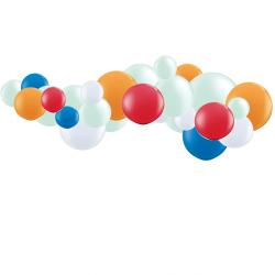 Kit Guirlande de Ballons Organiques - Modèle Chien