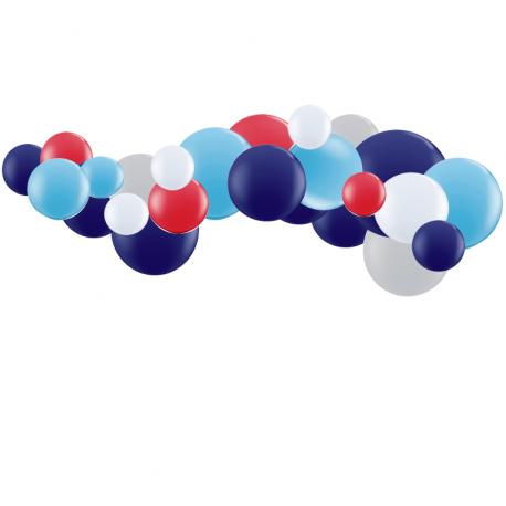 Kit Guirlande de Ballons Organiques - Modèle Ferme Garçon