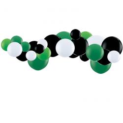 Kit Guirlande de ballons organiques - Modèle Football