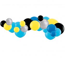 Kit Guirlande de Ballons Organiques - Modèle Police