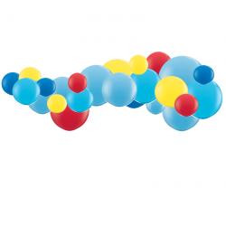 Kit Guirlande de Ballons Organiques - Modèle Pat-Patrouille