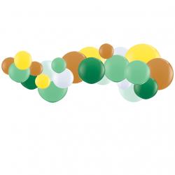Kit Guirlande de Ballons Organiques - Modèle Tipi