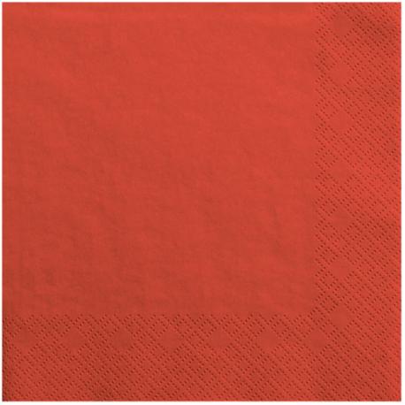 Verres Jetables en Papier Rouge de Fête