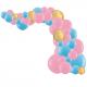 Kit Arche de Ballons Organiques - Modèle Gender Reveal