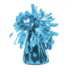 Sac Contrepoids Bleu Rond Pour Ballon Hélium Holographique Ultra brillant