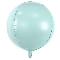 Ballon Rond Orb Vert Mint Pastel - Décoration Anniversaire Enfant