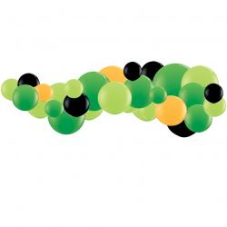 Kit Guirlande de Ballons Organiques - Modèle Gamer