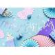 Banderole Happy Birthday Lettres Manuscrites Holographique - Décoration Anniversaire