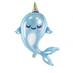 Ballon XL Baleine Bleue - Anniversaire pour enfants