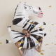 Ballon Géant Alu Animal Chiffre 5 Ans Zèbre Anniversaire