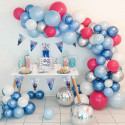 Ballon Holographique Reine des Neiges Disney pour Anniversaire et Fête Elsa et Anna