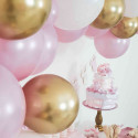 Confettis Premium Pois Rose et Doré