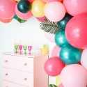 Kit Arche de Ballons Organiques - Modèle Toucan Tropical