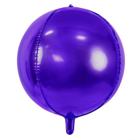 Ballon Rond Orb Violet - Décoration Anniversaire Enfant