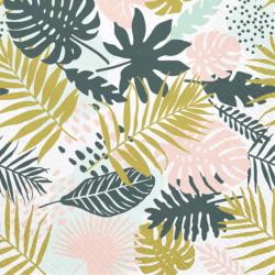 Grandes Serviettes en Papier Feuilles Jungle Tropical