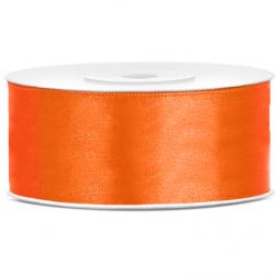 Ruban Satin Large 25mm Orange 25 mètres