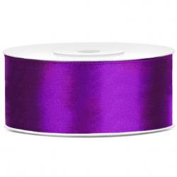 Grand Ruban 25mm Satin Violet 25m