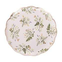 Grandes assiettes Liberty Fleurs - Collection décoration florale