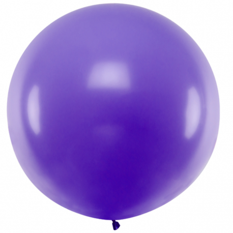 Ballon Jumbo 100cm Latex Violet Fête