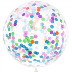 Grand Ballon Confettis Jumbo
