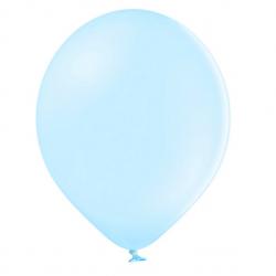 100 Ballons 27cm Latex Bleu Pastel Poudré Fête