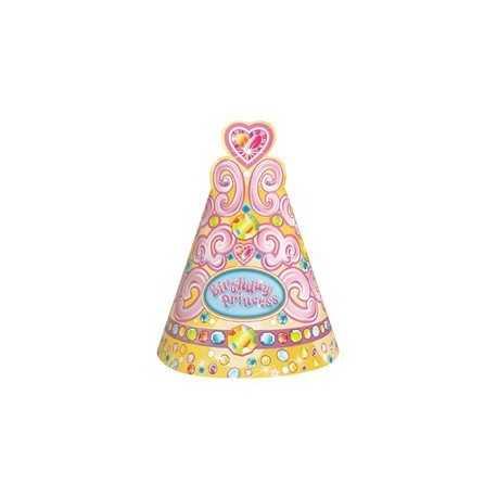 Chapeaux de Fête Anniversaire Jolie Princesse