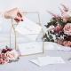Urne en Verre Premium - Maison Livre d'or original de fête
